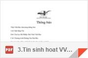 Các Thông-báo của Viện Việt-Học 2017 - (File: # 3)